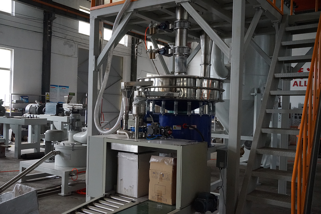Finished Powder 500Kg Electrostatic Powder ACM MILL