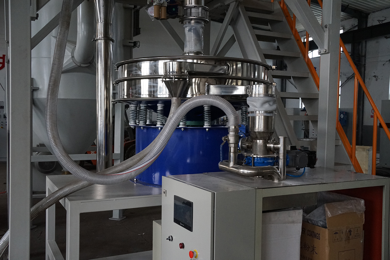 Sieving 500Kg Electrostatic Powder ACM MILL